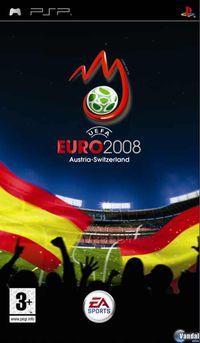 Portada oficial de Euro 2008 para PSP