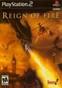 Portada oficial de Reign of Fire para PS2