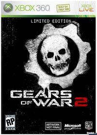 Portada oficial de Gears of War 2 para Xbox 360