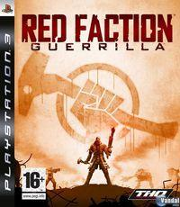 Portada oficial de Red Faction: Guerrilla para PS3