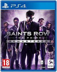 Portada oficial de Saints Row the Third Remastered para PS4