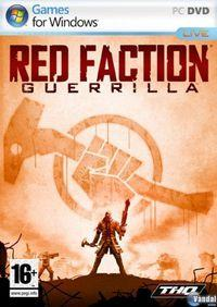 Portada oficial de Red Faction: Guerrilla para PC