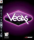 Portada oficial de de This is Vegas para PS3