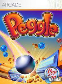 Portada oficial de Peggle XBLA para Xbox 360