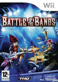 Portada oficial de Battle of the Bands para Wii