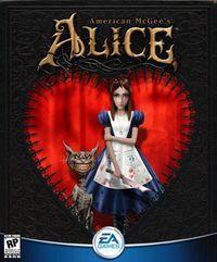 Portada oficial de American McGee's Alice para PC