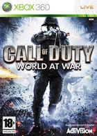 Portada oficial de de Call of Duty: World at War para Xbox 360