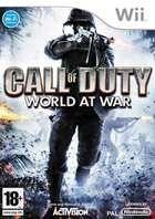 Portada oficial de de Call of Duty: World at War para Wii