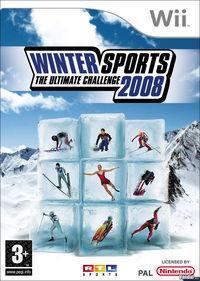 Portada oficial de Winter Sports 2008 - The Ultimate Challenge para Wii