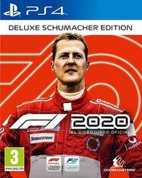 Portada oficial de F1 2020 para PS4
