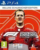 Portada oficial de de F1 2020 para PS4