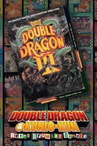 Portada oficial de Double Dragon 3: The Sacred Stones para Xbox One