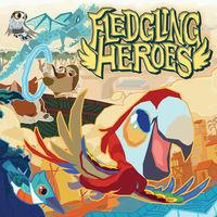 Portada oficial de Fledgling Heroes para Switch