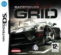 Portada oficial de Race Driver: GRID para NDS