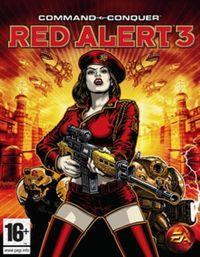 Portada oficial de Command & Conquer: Red Alert 3 para PC