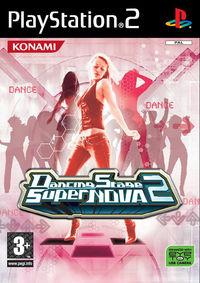 Portada oficial de Dancing Stage SuperNOVA2 para PS2