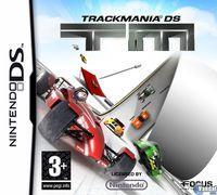 Portada oficial de TrackMania DS para NDS