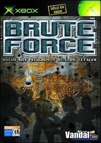 Portada oficial de Brute Force para Xbox
