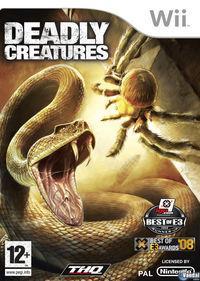 Portada oficial de Deadly Creatures para Wii