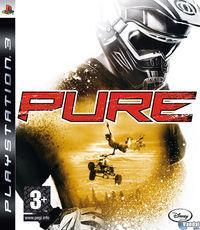 Portada oficial de Pure para PS3