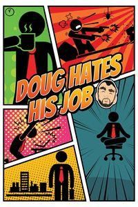 Portada oficial de Doug Hates His Job para Xbox One