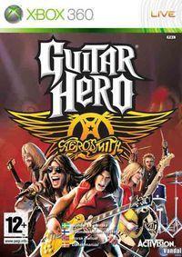 Portada oficial de Guitar Hero: Aerosmith para Xbox 360