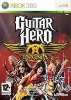 Portada oficial de de Guitar Hero: Aerosmith para Xbox 360