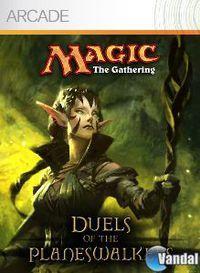 Portada oficial de Magic: The Gathering - Duels of the Planeswalkers XBLA para Xbox 360