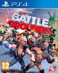 Portada oficial de WWE 2K Battlegrounds para PS4