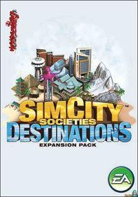 Portada oficial de SimCity Societies Destinations para PC