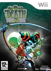 Portada oficial de Death Jr. : Root Of Evil para Wii