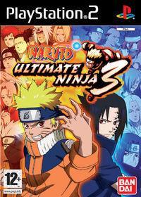 Portada oficial de Naruto Ultimate Ninja 3 para PS2