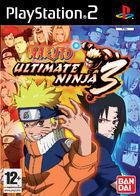 Portada oficial de de Naruto Ultimate Ninja 3 para PS2
