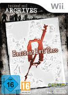 Portada oficial de de Resident Evil Zero Wii Edition para Wii