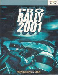 Portada oficial de Pro Rally 2001 para PC