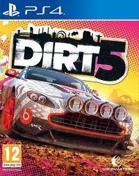 Portada oficial de DIRT 5 para PS4