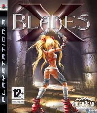 Portada oficial de X-Blades para PS3