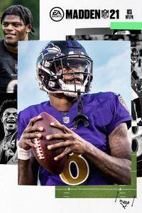 Portada oficial de Madden NFL 21 para Xbox One