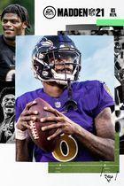 Portada oficial de de Madden NFL 21 para Xbox One
