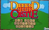 Portada oficial de Defend your Castle para Wii