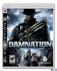 Portada oficial de Damnation para PS3