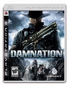 Portada oficial de de Damnation para PS3