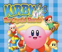 Portada oficial de Kirby 64 The Crystal Shards CV para Wii