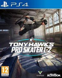 Portada oficial de Tony Hawk's Pro Skater 1 + 2 para PS4