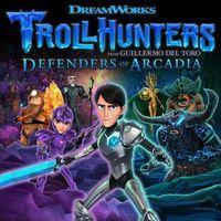 Portada oficial de Trollhunters Defenders of Arcadia para PS4