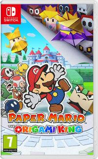 Portada oficial de Paper Mario: The Origami King para Switch