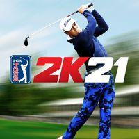 Portada oficial de PGA Tour 2K21 para PS4