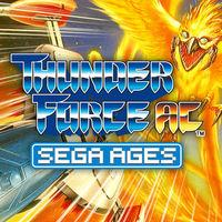 Portada oficial de Sega Ages Thunder Force AC para Switch