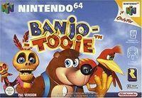 Portada oficial de Banjo Tooie para Nintendo 64
