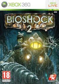Portada oficial de BioShock 2 para Xbox 360